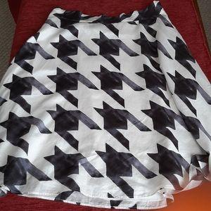 Liz Claiborne New York silk and cotton skirt